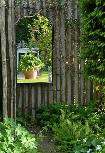 17 Best Images About Garden Mirrors On Pinterest Gardens