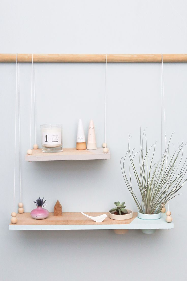 DIY Suspension Shelving