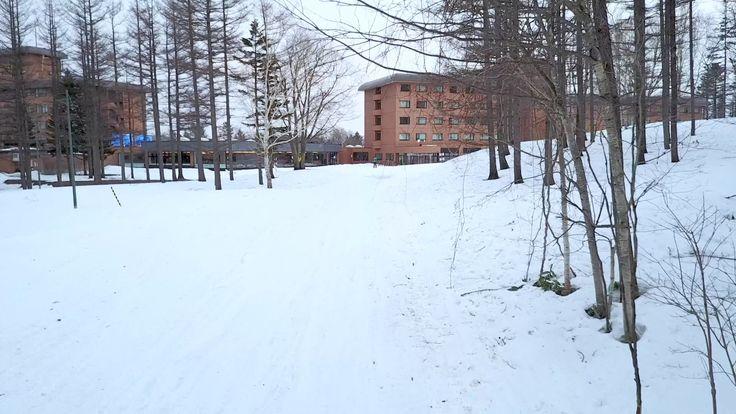 Club Med Sahoro Ski Resort in Hokkaido Aerial View