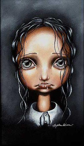 { Poor Little Abigail } Angelina Wrona #angelinawrona