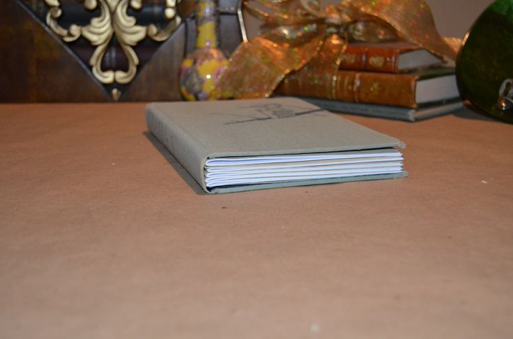 """Handcrafted """"Writer's Pages"""" journal"""