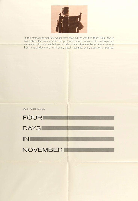 Four Days in November (1964)