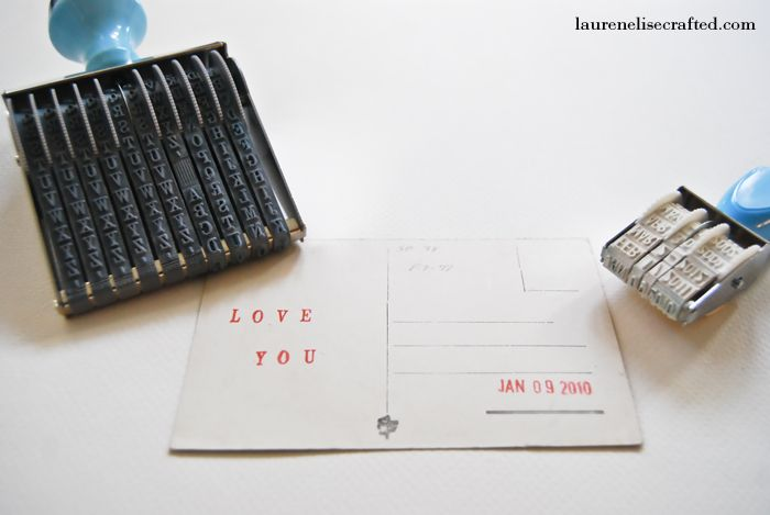 adorbs diy wedding save the date!