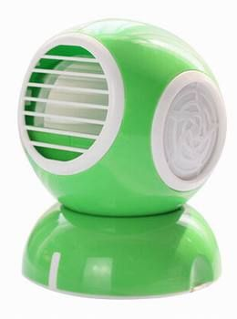 Portable Mini USB Fan Air Conditioning Fan Small Cooling Fan Green
