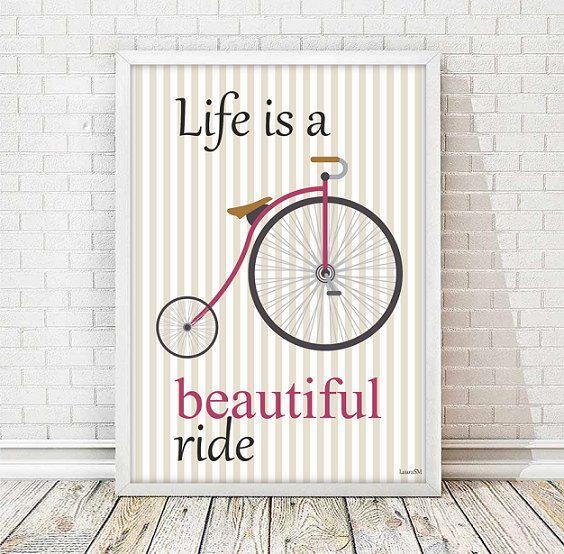 lamina bici, ilustracion bicicleta, bici vintage, bicicleta retro, laminas…