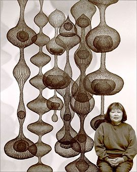 Ruth Asawa--one of the many amazing San Franciscans I miss!