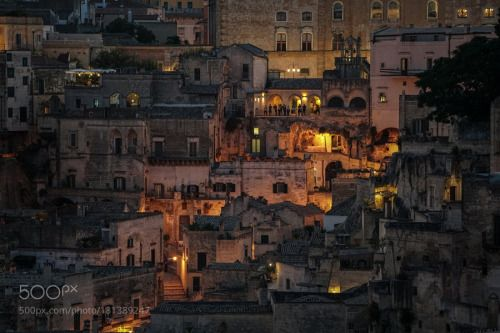 by WaveFaber  travel italy tourism architecture building italia ancient basilicata mt sassi matera WaveFaber