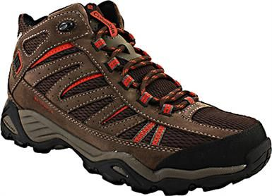 Columbia Sportswear North Plains Mid WP Hiking Shoes - Mens Brown