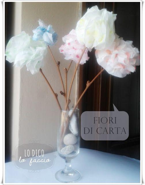 Come fare dei fiori di carta [igienica]