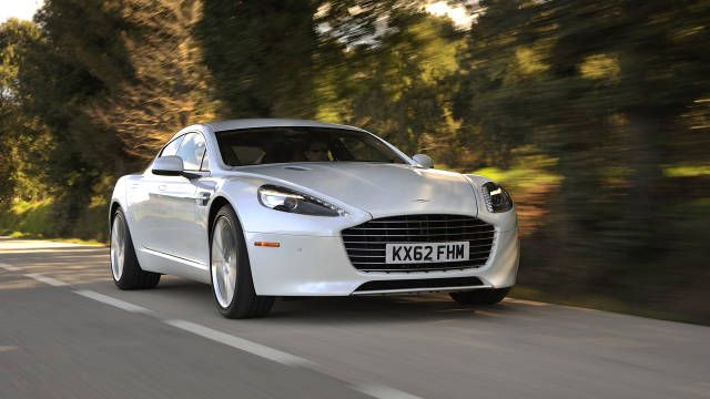 2014 Aston Martin Rapide S. The answer is yes.