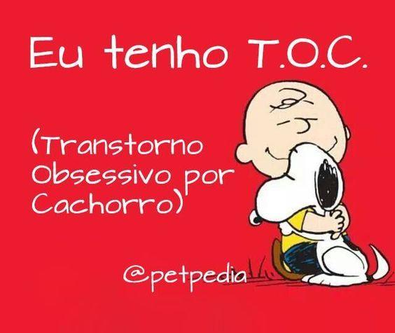 Quem tem T.O.C? hehe <3 #petmeupet #cachorro