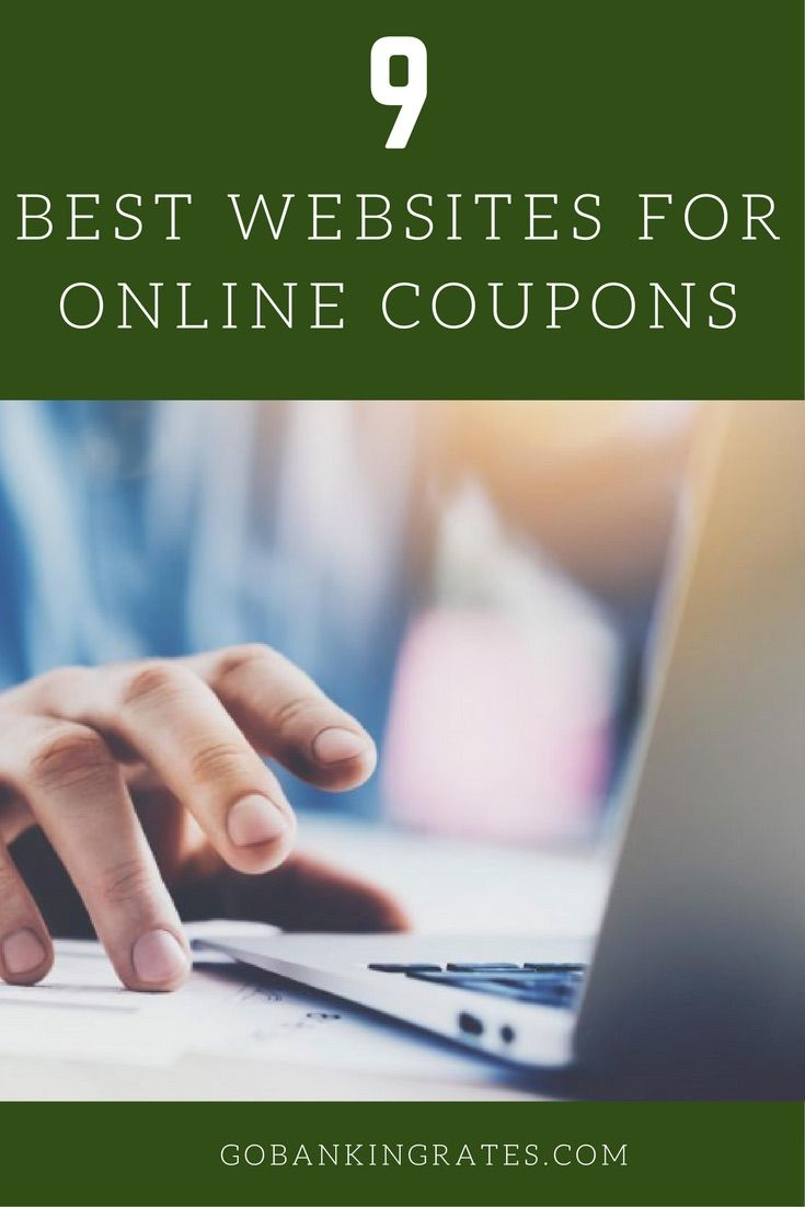 Find coupons, deals and more savings on these sites.