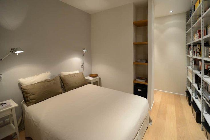 Ispirazione nordica camera da letto minimalista di