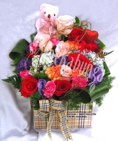 Diskon 10- 20% utk bunga hari VALENTINE (14 Feb) & parcel hari raya IMLEK (10 Feb). Diskon hanya s/d 5 Feb! Pesan sekarang juga, tinggal 2 hari lagi! Foto: www.AnekaBunga.com/r/15/ Telp.5812161 / 0859-206-10-700 / BBM: 21E23F02 / WhatsApp: 0813-100-100-96 / YM: nina.anekabunga / Line & Skype: anekabunga