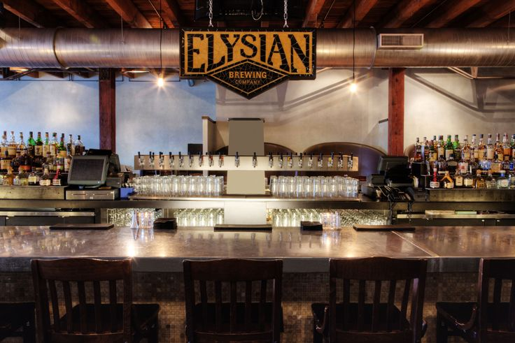 Founded in 1995 Elysian Brewing has gained popularity with its award-winning ales. Image by Spaces Images / Blend Images / Getty | #Seattle #USA