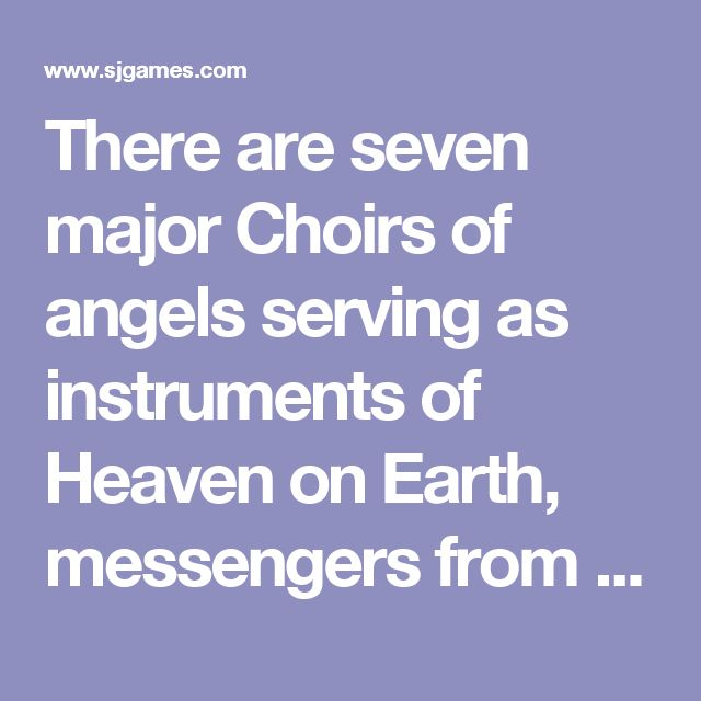 There are seven major Choirs of angels serving as instruments of Heaven on Earth, messengers from the celestial realm to the corporeal. Their basic natures are defined as resonance with the Symphony, balanced with dissonance, an angel's denial of his true nature. Angels who are greatly dissonant run the risk of Falling from grace, losing their divinity and becoming demons. While the Grigori (presuming any members of that Choir still survive) are not by strict definition malevolent, they…