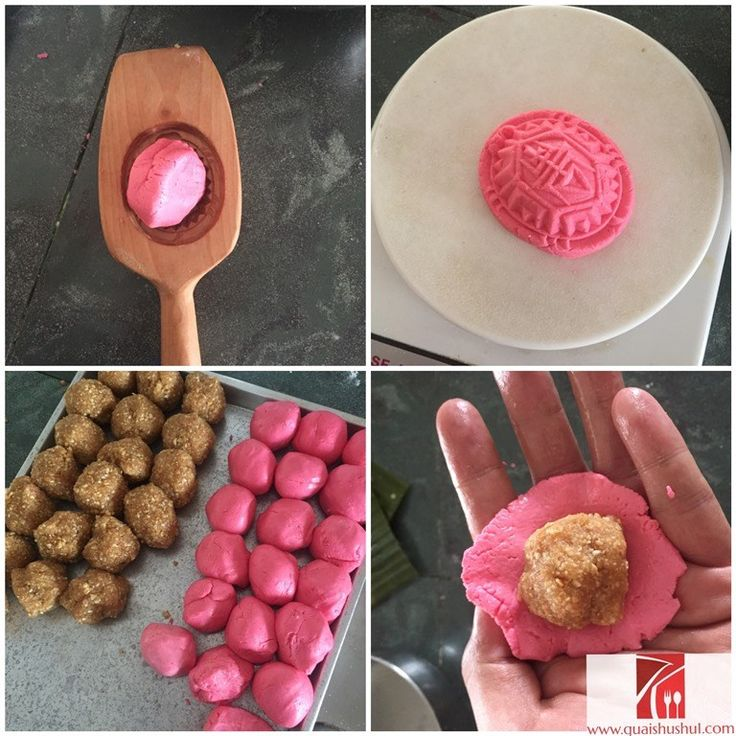 Angku Kuih Recipe Revisited  ( 红龟糕-花生馅)