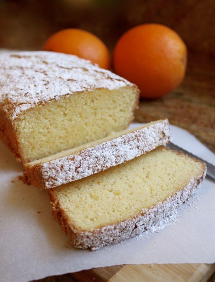 Gluten-free Orange Loaf Cake simply tastes amazing (no one will know it's GF…