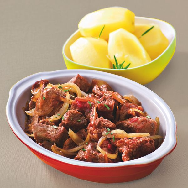 WeightWatchers.fr : recette Weight Watchers - Sauté de veau à la tomate