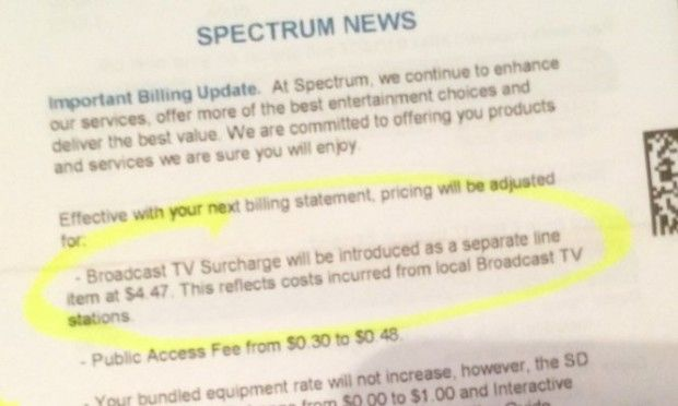 Charter Communications adds line item charge on cable bill for broadcast stations http://ift.tt/2k00lnE