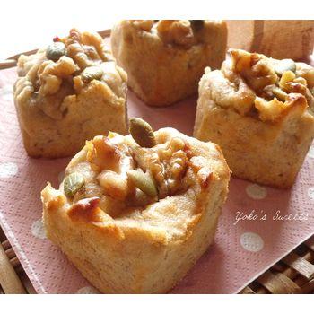 クミタス レシピ バナナの米粉マフィン (小麦・卵・乳製品なし)