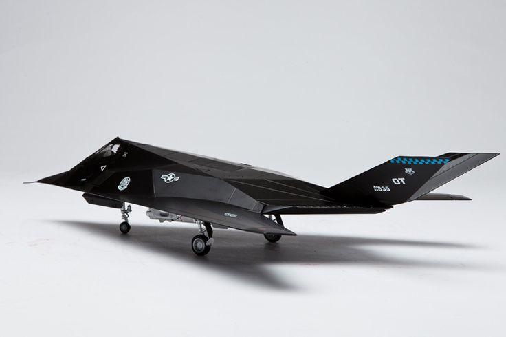 1:48 F117 Nighthawk fighter alloy model