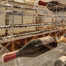 Photo of Morrell & Company - New York, NY, United States. The rare wine vault at Morrell & Company Wine and Spirits