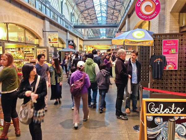 A rundown of my favorite foodie finds at the Ferry Building San Francisco's best food hall and farmer's market.
