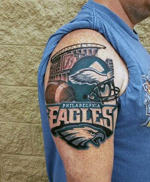 Philadelphia Eagles Mens Football Upper Arm Tattoos https://www.fanprint.com/licenses/philadelphia-eagles?ref=5750