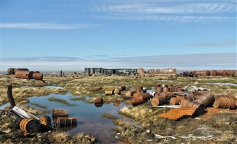 In three years, 670 tonnes of scrap metal was collected from Bely island - Ecology: Arctic-Info