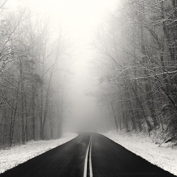 Winter-Fotografie Schnee Winterlandschaft von NicholasBellPhoto