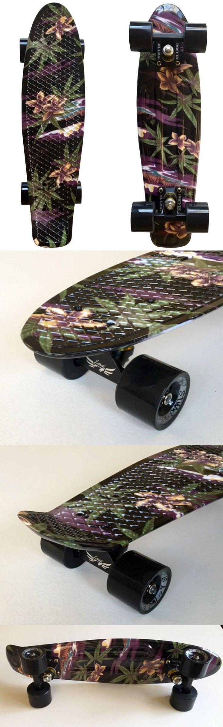 Skateboards-Complete 16264: Lmai 22 Cruiser Skateboard Graphic Flbb Board Penny Style Plastic Skateboard -> BUY IT NOW ONLY: $64.99 on eBay!