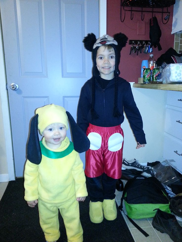 Mickey and Pluto costumes                                                                                                                                                                                 More