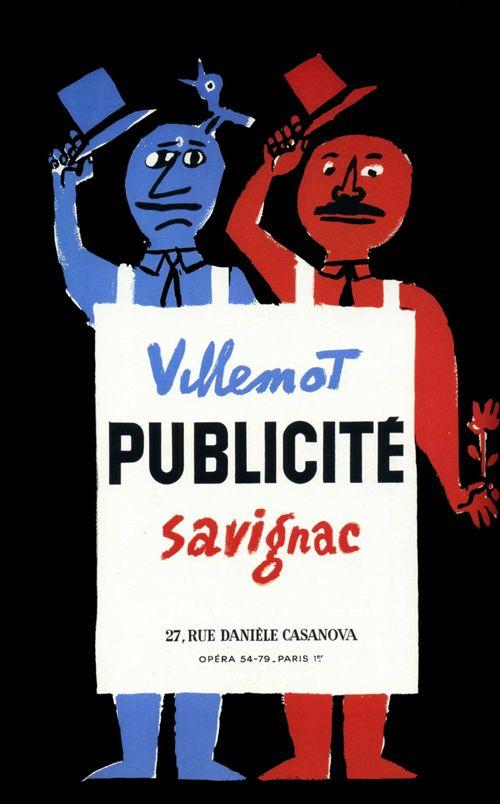 Bernard Villemot & Raymond Savignac