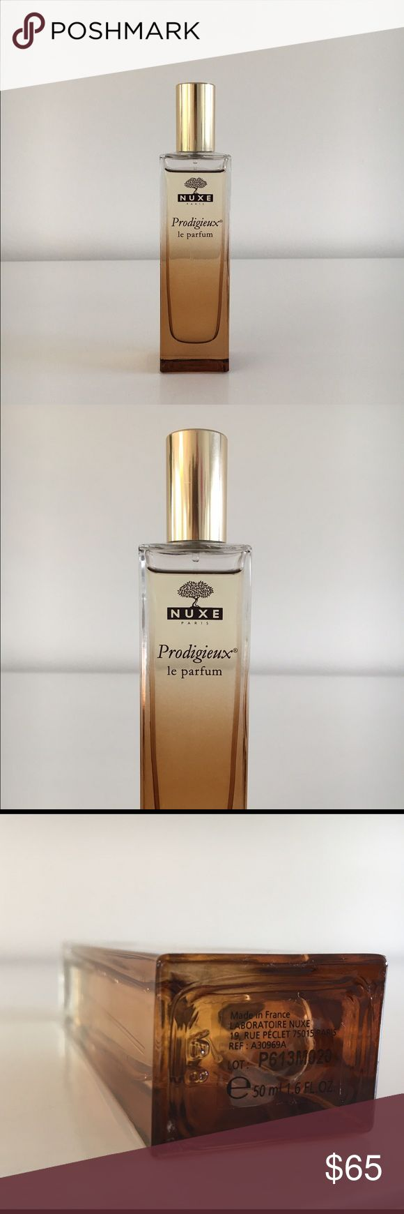NUXE Prodigieux Le Parfum EAU DE PARFUM. For all skin types. This fragrance is based on the French brand's cult all-purpose dry oil, Huile Prodigieuse. A summery, beachy scent with notes of orange blossom, magnolia, bergamot, and vanilla. Summer in a bottle! NUXE Makeup