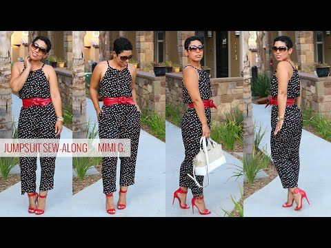 Simplicity Jumpsuit Sew-Along w/ Mimi G - YouTube