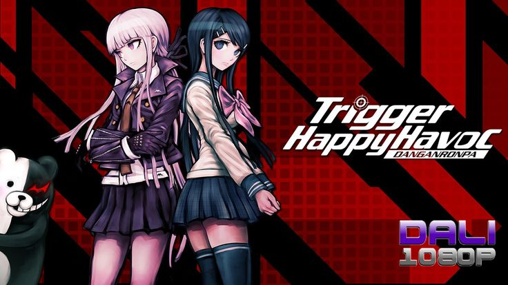 Danganronpa: Trigger Happy Havoc is pure madness!! #Danganronpa #TriggerHappyHavoc #PC #Steam #SpikeChunsoft #DaliHDGaming  #YouTube