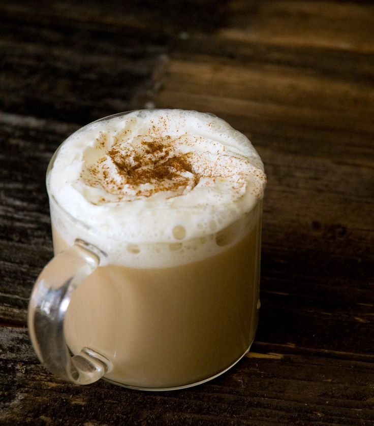 It couldn't be easier to make your own chai tea latte!