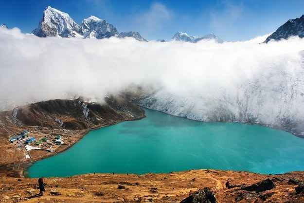 The various lakes of Nepal are known not only for their outstanding beauty but also for their spiritual importance. There are over 200 lakes in Nepal with glacier origin.