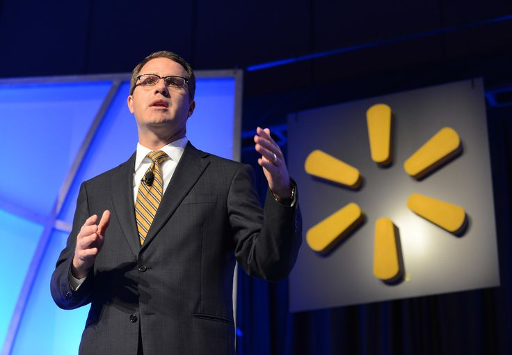 Walmart Chief Joins C.E.O. Protests