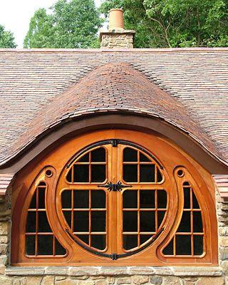 a round window- a fairy tale...
