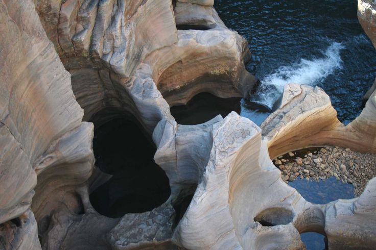 God's Window Potholes, Blyde River Canyon, South Africa. The eyes are the windows to the soul.