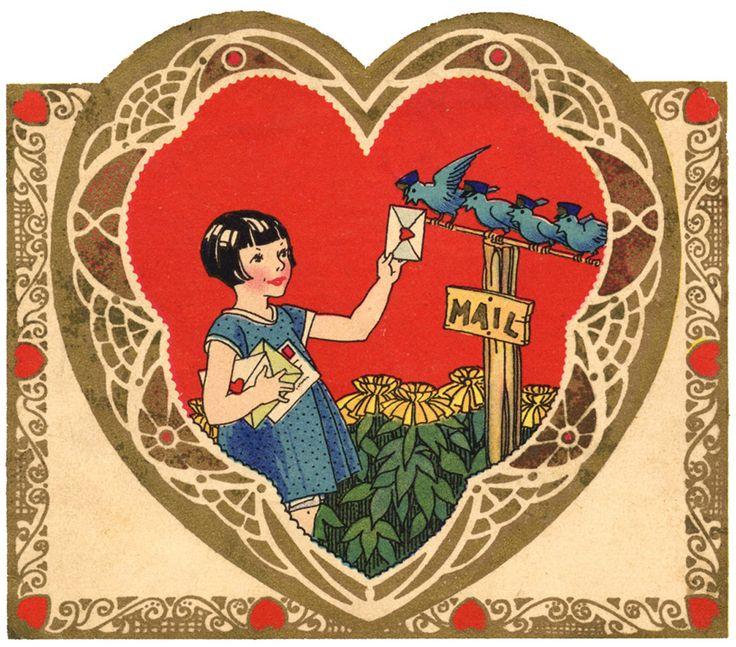 131 best Vintage greetings images on Pinterest  Vintage cards