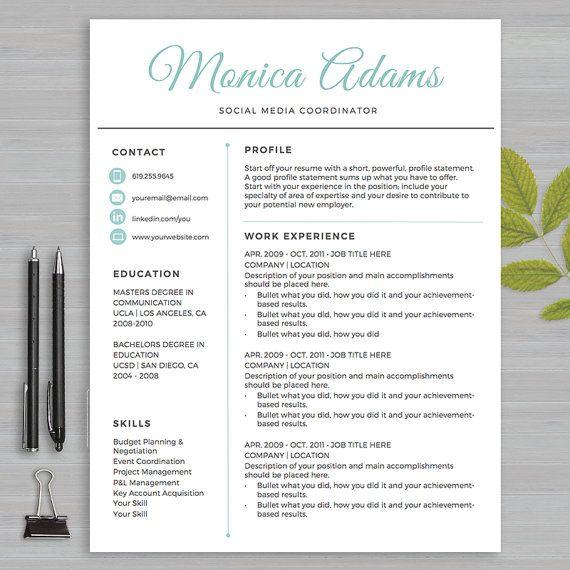 Pinterestu0027teki 25u0027den fazla en iyi Sales resume fikri Girişimci - resume one page