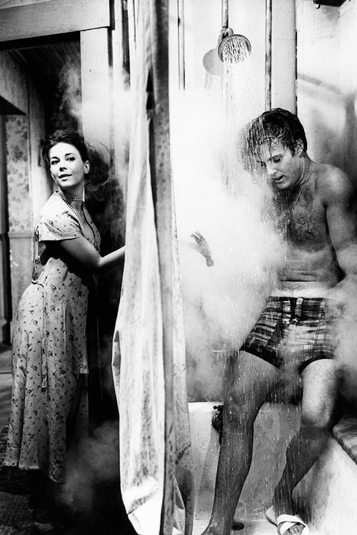 Natalie Wood and Robert Redford in This Property Is Condemned. Director: Sydney Pollack, 1966.