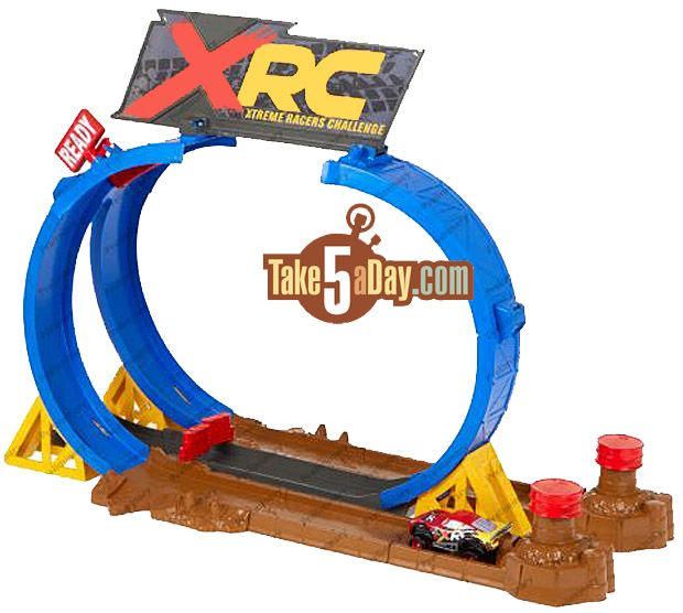 Mattel Disney Pixar Cars Xtreme Racing Series Xrs Crash Challenge