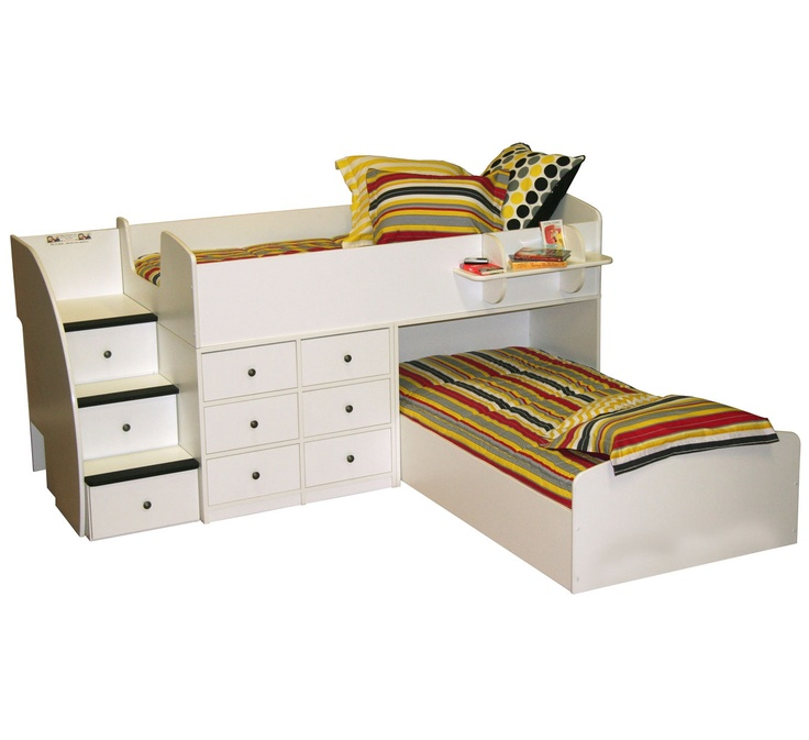 46 best Bunk Beds and d Bedrooms images on Pinterest