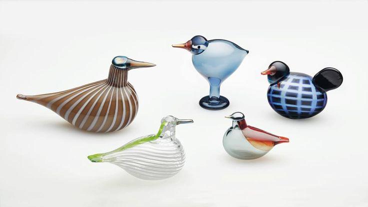 Oiva Toikka, Kyoto, Minneapolis, Hong Kong, Seoul and Washington D.C. birds, 2016, City Birds series