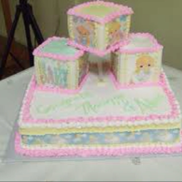 Precious Moments Baby Shower Cakes: 1000+ Images About Cakes On Pinterest