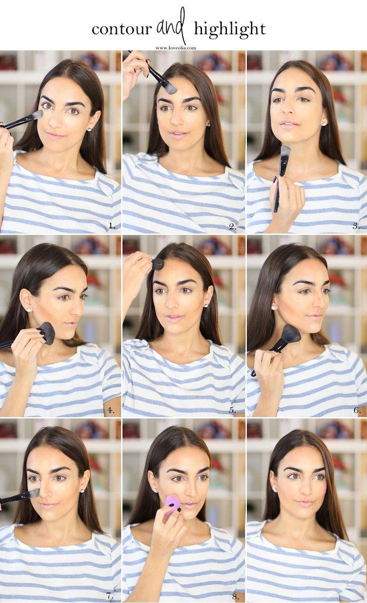 Makeup Tutorial: How To Contour & Highlight How To Contourbaremineralsmirror